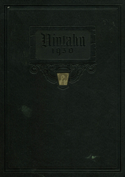 Uintah High School - Uintahn Yearbook (Vernal, UT) online yearbook collection, 1930 Edition, Cover