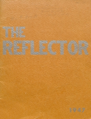 Union Center High School - Reflector Yearbook (Wells County, IN) online yearbook collection, 1947 Edition, Cover