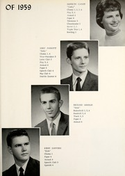 Page 11, 1959 Edition, Union Center High School - Reflector Yearbook (Wells County, IN) online yearbook collection