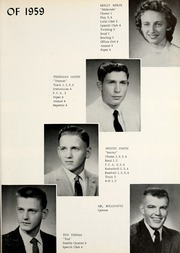 Page 13, 1959 Edition, Union Center High School - Reflector Yearbook (Wells County, IN) online yearbook collection