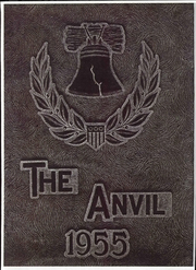 Union City Area High School - Anvil Yearbook (Union City, PA) online yearbook collection, 1955 Edition, Cover