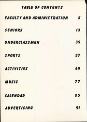 Page 8, 1955 Edition, Union City Area High School - Anvil Yearbook (Union City, PA) online yearbook collection