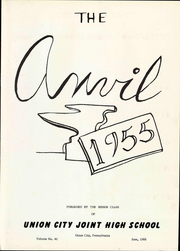 Page 9, 1955 Edition, Union City Area High School - Anvil Yearbook (Union City, PA) online yearbook collection