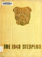Union College - Stespean Yearbook (Barbourville, KY) online yearbook collection, 1948 Edition, Cover