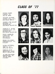 Page 12, 1977 Edition, Union College - Stespean Yearbook (Barbourville, KY) online yearbook collection