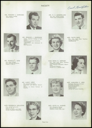 Page 13, 1956 Edition, Union Endicott High School - Thesaurus Yearbook (Endicott, NY) online yearbook collection