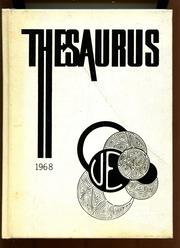 Union Endicott High School - Thesaurus Yearbook (Endicott, NY) online yearbook collection, 1968 Edition, Cover
