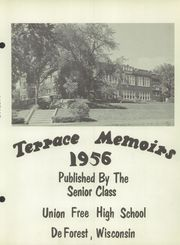 Page 7, 1956 Edition, Union Free High School - Terrace Memories Yearbook (De Forest, WI) online yearbook collection