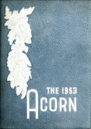 Union High School - Acorn Yearbook (Vale, NC) online yearbook collection, 1953 Edition, Cover