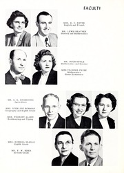 Page 10, 1953 Edition, Union High School - Acorn Yearbook (Vale, NC) online yearbook collection
