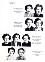 Page 11, 1953 Edition, Union High School - Acorn Yearbook (Vale, NC) online yearbook collection