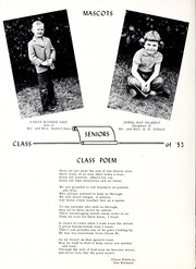 Page 14, 1953 Edition, Union High School - Acorn Yearbook (Vale, NC) online yearbook collection
