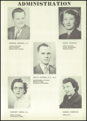 Page 11, 1952 Edition, Union High School - Arrow Yearbook (Wisconsin Dells, WI) online yearbook collection