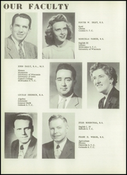 Page 12, 1952 Edition, Union High School - Arrow Yearbook (Wisconsin Dells, WI) online yearbook collection
