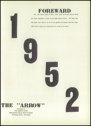 Page 7, 1952 Edition, Union High School - Arrow Yearbook (Wisconsin Dells, WI) online yearbook collection