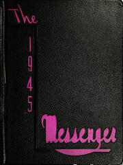 Union High School - Messenger Yearbook (Benwood, WV) online yearbook collection, 1945 Edition, Cover