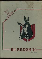 Union High School - Redskin Yearbook (Tulsa, OK) online yearbook collection, 1984 Edition, Cover