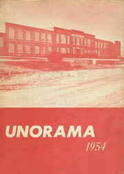 Union Local High School - Unorama Yearbook (Mansfield, OH) online yearbook collection, 1954 Edition, Cover