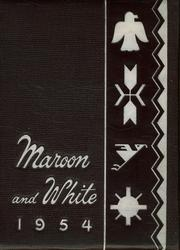 Uniontown High School - Maroon and White Yearbook (Uniontown, PA) online yearbook collection, 1954 Edition, Cover