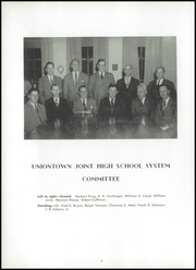 Page 10, 1954 Edition, Uniontown High School - Maroon and White Yearbook (Uniontown, PA) online yearbook collection