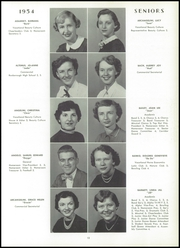 Page 17, 1954 Edition, Uniontown High School - Maroon and White Yearbook (Uniontown, PA) online yearbook collection