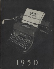 United Colleges - Vox Yearbook (Winnipeg, Manitoba Canada) online yearbook collection, 1950 Edition, Cover