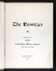 Page 9, 1897 Edition, United States Military Academy West Point - Howitzer Yearbook (West Point, NY) online yearbook collection