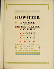 Page 9, 1928 Edition, United States Military Academy West Point - Howitzer Yearbook (West Point, NY) online yearbook collection