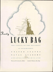 Page 13, 1940 Edition, United States Naval Academy - Lucky Bag Yearbook (Annapolis, MD) online yearbook collection