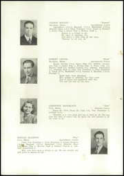 Unity High School - Monitor Yearbook (Unity, ME) online yearbook collection, 1940 Edition, Page 12 of 58