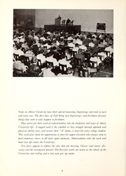 Page 10, 1959 Edition, University of Akron - Tel Buch Yearbook (Akron, OH) online yearbook collection