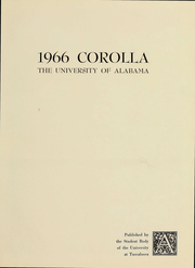 wholesale dealer b1d25 86c7a Page 6, 1966 Edition, University of Alabama - Corolla Yearbook (Tuscaloosa,  ...