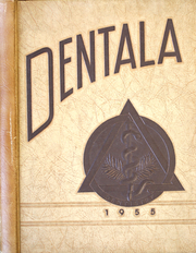 University of Alabama School of Dentistry - Dentala Yearbook (Birmingham, AL) online yearbook collection, 1955 Edition, Cover