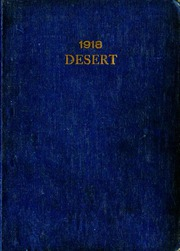 University of Arizona - Desert Yearbook (Tucson, AZ) online yearbook collection, 1918 Edition, Cover