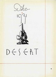 University of Arizona - Desert Yearbook (Tucson, AZ) online yearbook collection, 1931 Edition, Page 5 of 340