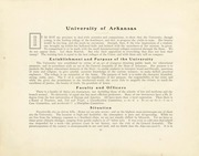 Page 12, 1901 Edition, University of Arkansas Fayetteville - Razorback Yearbook (Fayetteville, AR) online yearbook collection