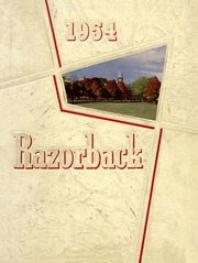 University of Arkansas Fayetteville - Razorback Yearbook (Fayetteville, AR) online yearbook collection, 1954 Edition, Cover