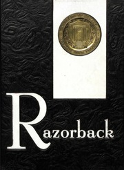 University of Arkansas Fayetteville - Razorback Yearbook (Fayetteville, AR) online yearbook collection, 1964 Edition, Cover