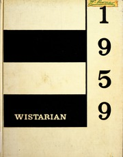 University of Bridgeport - Wistarian Yearbook (Bridgeport, CT) online yearbook collection, 1959 Edition, Cover