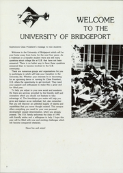 Page 6, 1988 Edition, University of Bridgeport - Wistarian Yearbook (Bridgeport, CT) online yearbook collection