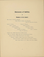 Page 13, 1898 Edition, University at Buffalo - Buffalonian Yearbook (Buffalo, NY) online yearbook collection