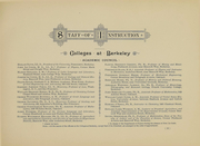 Page 13, 1891 Edition, University of California Berkeley - Blue and Gold Yearbook (Berkeley, CA) online yearbook collection