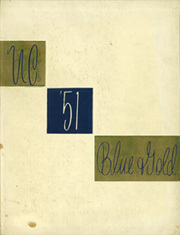 University of California Berkeley - Blue and Gold Yearbook (Berkeley, CA) online yearbook collection, 1951 Edition, Cover