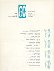 Page 6, 1960 Edition, University of California Berkeley - Blue and Gold Yearbook (Berkeley, CA) online yearbook collection