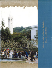 University of California Berkeley - Blue and Gold Yearbook (Berkeley, CA) online yearbook collection, 2000 Edition, Cover