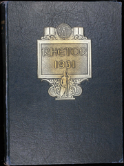 University of Central Missouri - Rhetor Yearbook (Warrensburg, MO) online yearbook collection, 1931 Edition, Cover