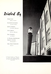 University City High School - Dial Yearbook (University City, MO) online yearbook collection, 1940 Edition, Page 10 of 128