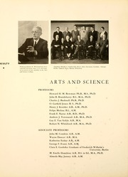 Page 16, 1935 Edition, University of Toledo - Blockhouse Yearbook (Toledo, OH) online yearbook collection