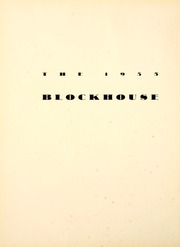 Page 6, 1935 Edition, University of Toledo - Blockhouse Yearbook (Toledo, OH) online yearbook collection