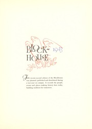 Page 7, 1943 Edition, University of Toledo - Blockhouse Yearbook (Toledo, OH) online yearbook collection